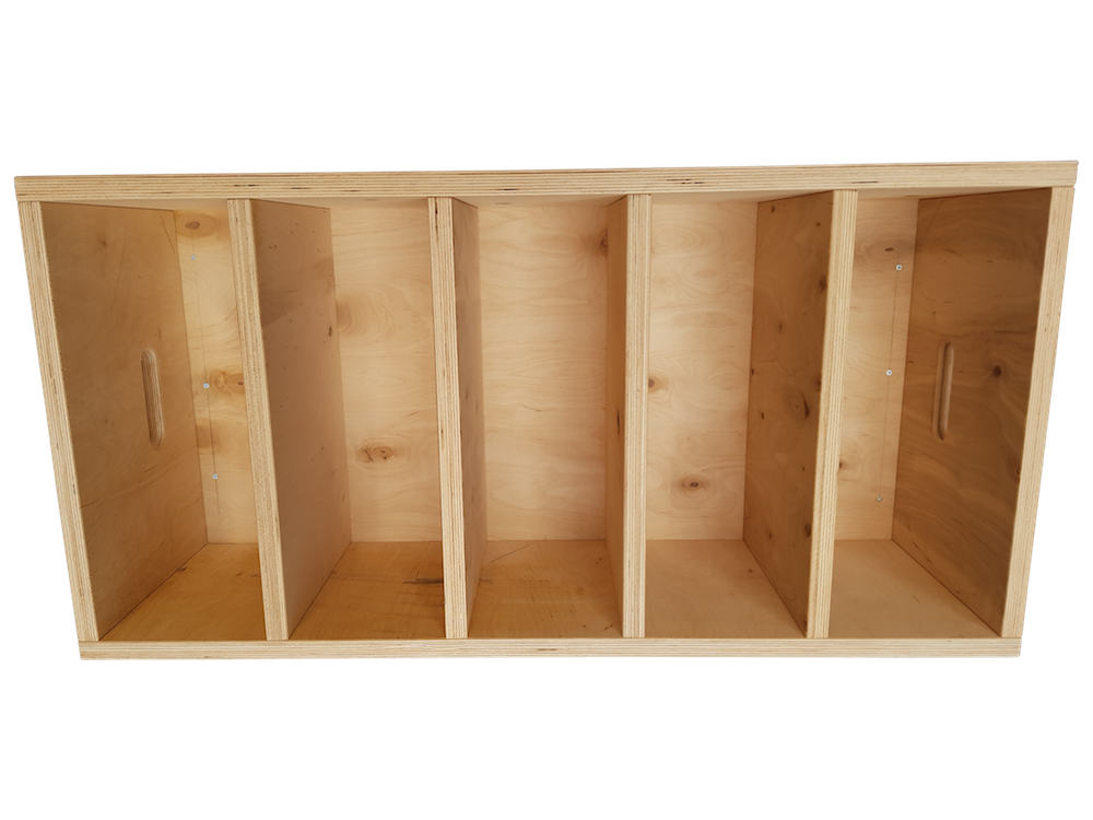 Jerk box - vyztužené překližky