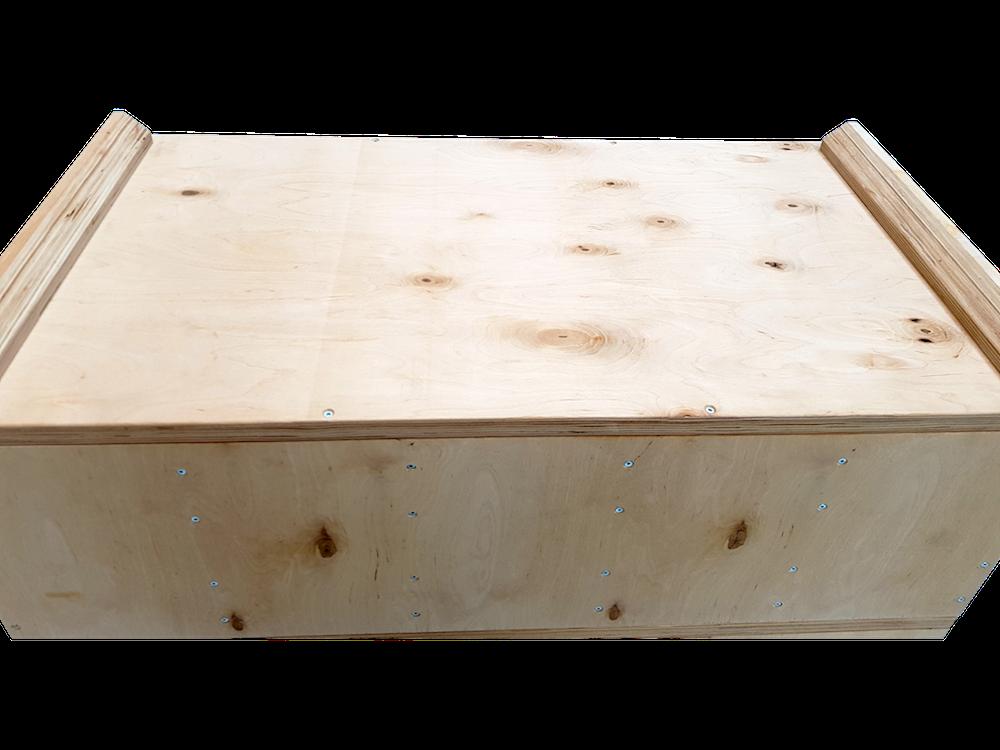 Jerk box - vyfrézované okraje