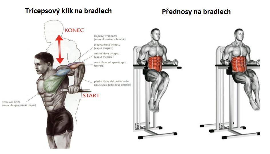 Tricepsové kliky