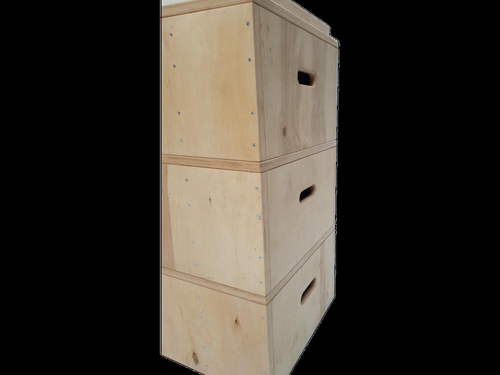 Jerk box - postranní úchopy