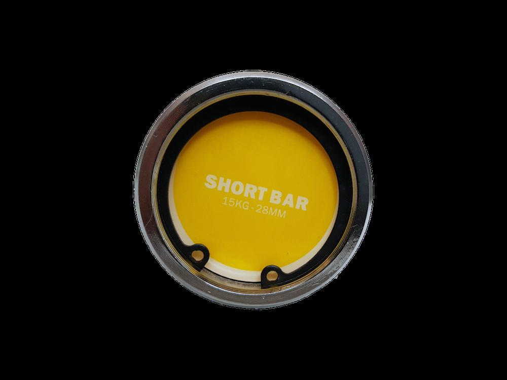 Short strong bar - čepičky