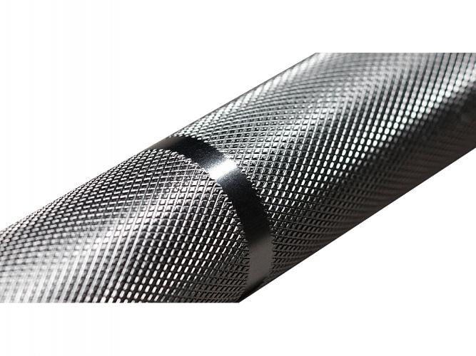Stronger Olympic Bar 2.0 - Center knurling: Without center knurling