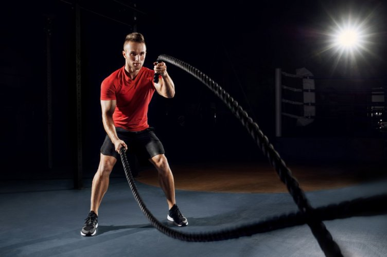 Training Strong rope 15m