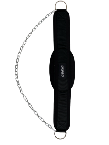 Weightlifting Belt with chain
