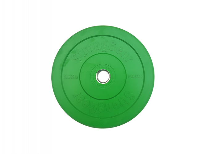 Coloured Bumper Plates - Weight: 10 kg
