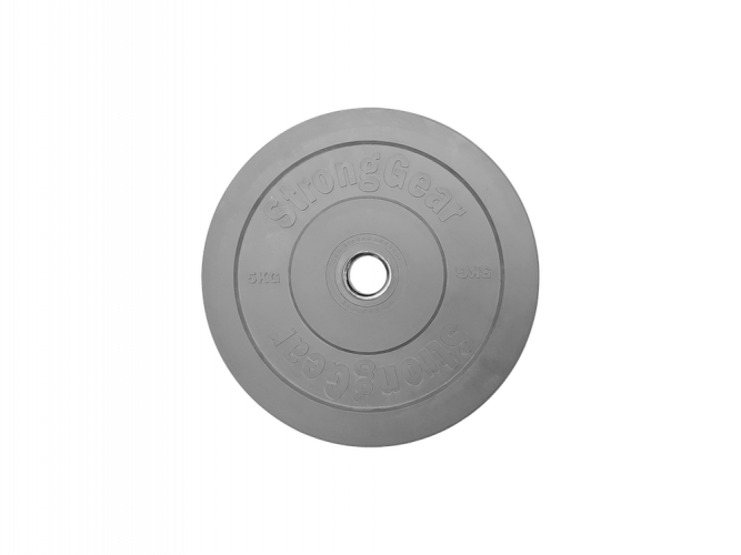Coloured Bumper Plates - Weight: 5 kg