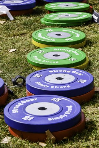 stronggear competition bumper plates