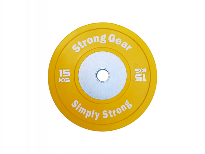 Competitive Bumper Plates - Weight: 15 kg