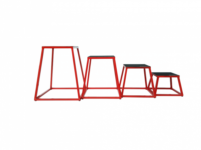 Set of steel plyoboxes