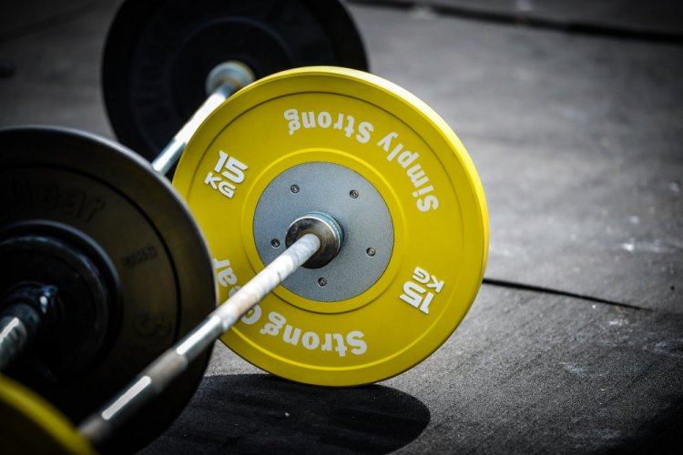 15kg competition yellow bumper plate