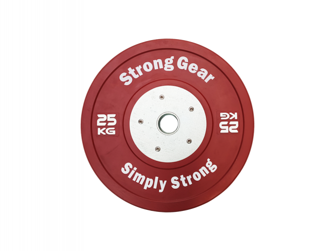 Competitive Bumper Plates - Weight: 25 kg
