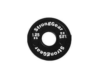 Steel fractional plates - Weight: 1,25 kg