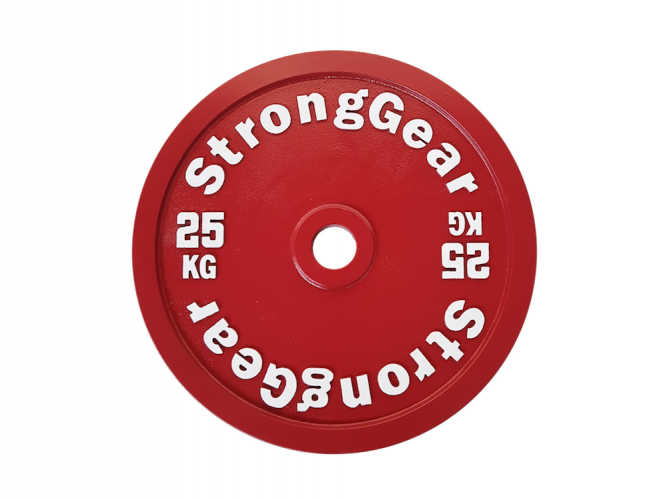 Competitive steel plates: 5 - 25 kg - Weight: 25 kg