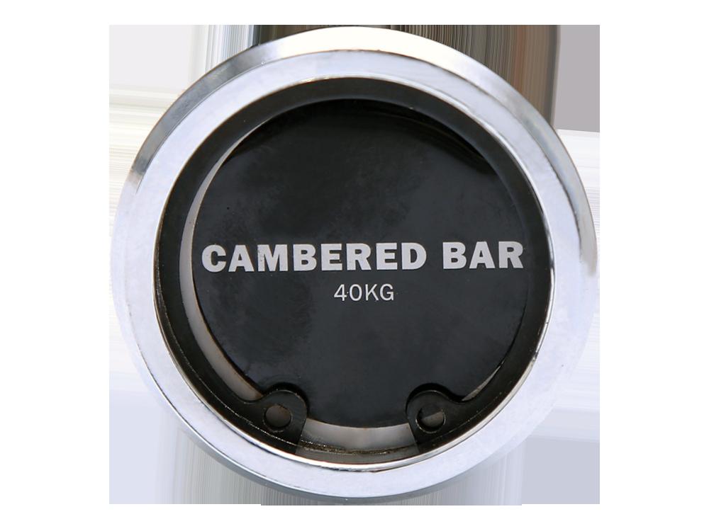 Cambered bar - čepičky